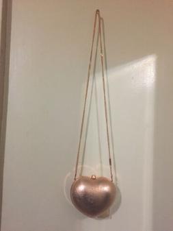148 pearl gold clutch purse heart rose