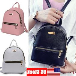 1Pc Mini Backpack Purse Small Backpack Shoulder Rucksack Bag