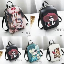 1Pc Mini Backpack Purse Small Backpack Shoulder Rucksack Bag