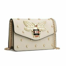 2019 Luxury Rhinestone Bee purses bags for women small chain