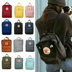 20L/16L/7L Fjallraven Kanken Classic Canvas Backpack Sport W