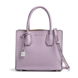 MICHAEL KORS $228 MERCER Purple Tote PURSE STRAP INCLUDED HA