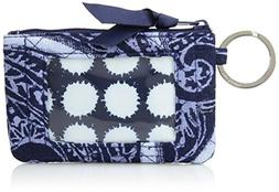 Vera Bradley Iconic Zip ID Case, Signature Cotton, Indio