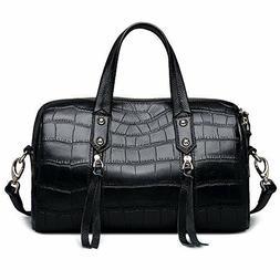 ZOOLER Genuine Leather Handbags for Women Crossbody Bags Bos