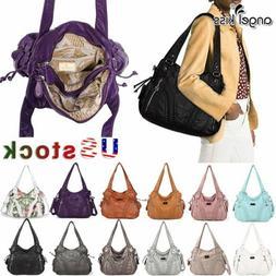 Angelkiss Women Brand Purses Satchel Handbags Shoulder Tote