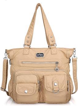 Angelkiss Womens Soft Leather Purses and Handbags Crossbody