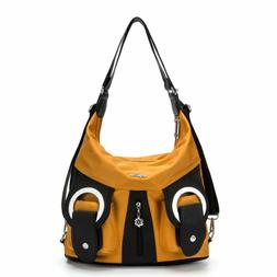 Angelkiss Womens Soft Leather Purses and Handbags Crossbody