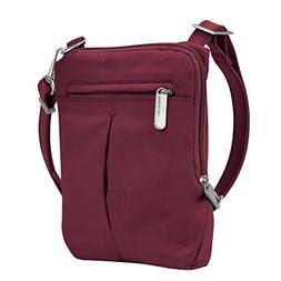 Travelon Anti-Theft Classic Light Slim Mini Crossbody Cross-