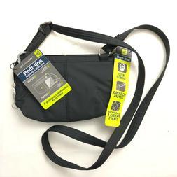 Travelon Anti-Theft Crossbody Waistpack Handbag Purse Bag Bl