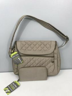 Travelon Anti-Theft Quilted Convertible Handbag with RFID Wa