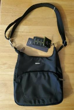 Travelon Anti-Theft Travel Purse Handbag Medium Essential Cr
