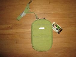 BAGGALLINI Apple Green w/ Blue Interior Pocket Bagg Crossbod
