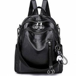 Backpack Purse For Women Fashion School PU Leather Purses Ha