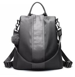 Pincnel Backpack Purse Waterproof Nylon Anti-theft Rucksack