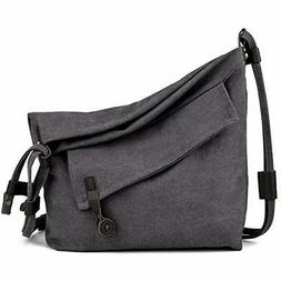 COOFIT Canvas Bag Women Crossbody Messenger Shoulder Purse U