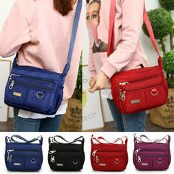 Casual Purses and Shoulder Handbags for Women Nylon Crossbod