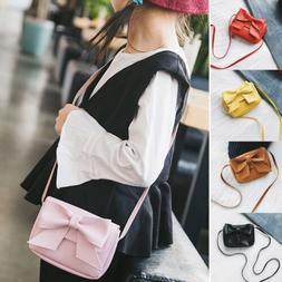 Child Kids Girls Cute Mini Crossbody Shoulder Bag Bowknot Ha