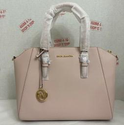 Michael Kors Ciara Pink Blossom Saffiano Leather Large Satch