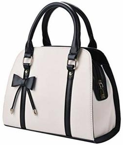 COOFIT Lady Purses and Handbags Little Bow Leisure Top-Handl