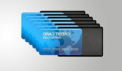 Card Armor Credit Card Holder, 6 Premium RFID Blocking Sleev