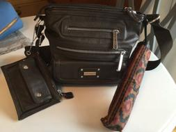Tyler Roden Crossbody Handbag With Matching Change Purse And