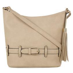 DELUXITY | Crossbody Hobo Slouch Bucket Purse Bag | Function