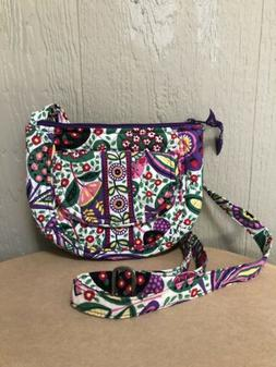 crossbody purse bag quilted floral