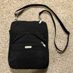 "Baggallini Crossbody Purse  ""NYLON BLACK"" Shoulder Bag Z"
