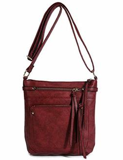 Crossbody Purses Bags for Women with Multi Pockets