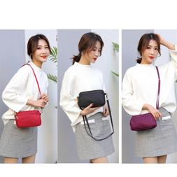 Crossbody Shoulder Bag Women Casual Handbag Nylon Travel Mes
