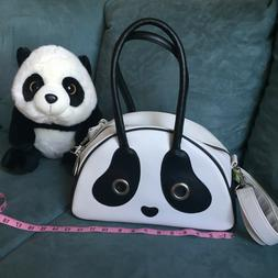 Cute Black and white Medium/Large Panda Purse for girls and