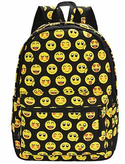 Emoji Backpack, COOFIT Kids Backpack Girls Backpack School B
