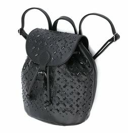 Cute Mini Leather Backpack Fashion Small Daypack Purses for