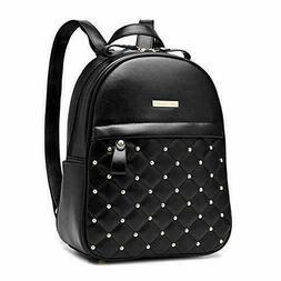Cute Mini Leather Backpack Fashion Small Daypacks Purse for