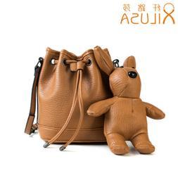Xilusa Cute Rabbit Purses And Handbag Red Crossbody Bags For