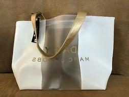 Marc Jacobs Daisy love and Tote Bag clear shopping purse car