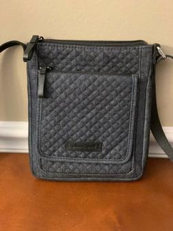 Vera Bradley Dark Navy Denim Crossbody Purse