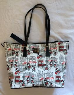 Disney Parks Dooney & Bourke Mickey and Minnie Mouse Downtow