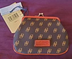 Dooney & Bourke Gretta Large Framed Purse in BROWN T'MORO