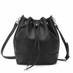 Drawstring Bucket Bag for Women Large Crossbody Purse and Sh