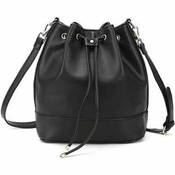 Drawstring Bucket Bag Women Large Crossbody Purse And Should