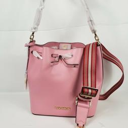 Michael Kors Eden  Medium Bucket Shoulder Bag Crosbody Carna