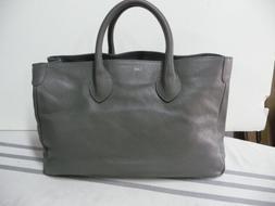 Mark and Graham Elisabetta Slouch Handbag Bag Gray NWOT mono