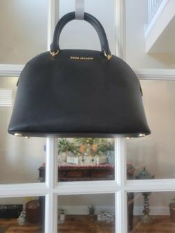 Michael Kors Emmy Large Dome Saffiano Leather Satchel Purse