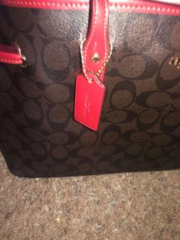 Coach F58292 F58846 City Zip Tote Outlet Exclusive Handbag N