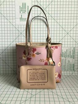 Coach F72652 Signature Reversible City Tote in Coated Canvas