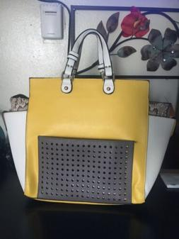 Fashion Handbags and Purses Multi Color Large Satchel New Wi
