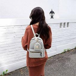 Fashion Small Backpack Mini Purse Casual Daypacks Leather fo
