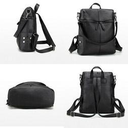 Fashion Women Backpack Leather Purse Satchel Shoulder Tote S
