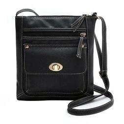 Fashion Women Leather Shoulder PU Handbag Messenger Crossbod